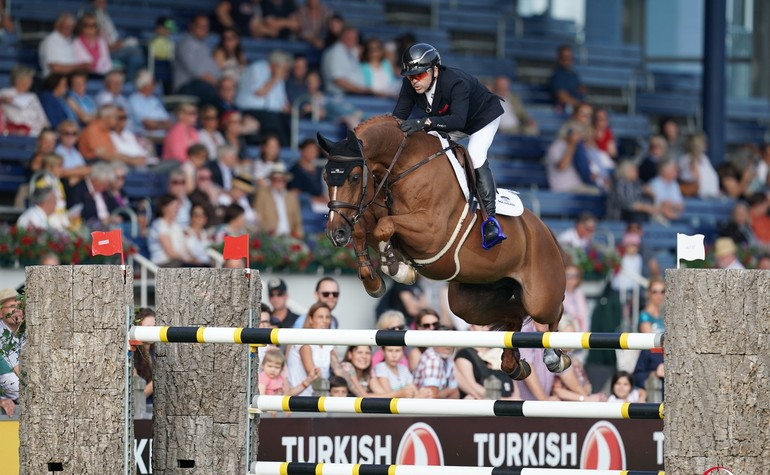 Return in the CSI3* Aachen