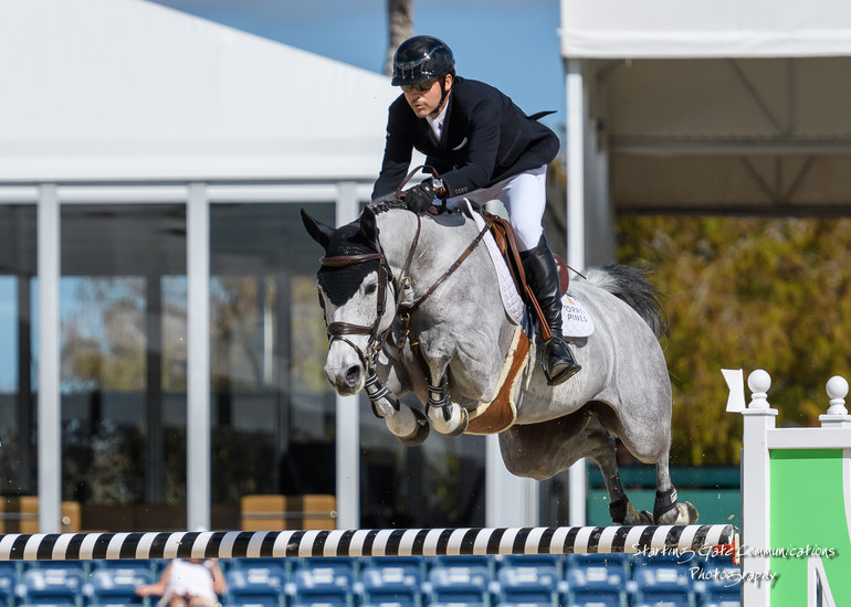 Eric Lamaze, Quentina by starting gate communication